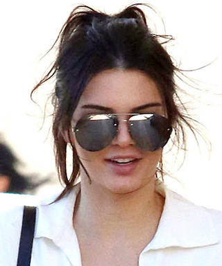 Kendall Jenner Wears the Lowest-Cut White Shirt Ever