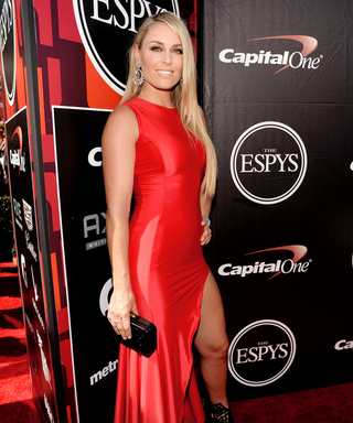 See How Lindsey Vonn Got Glamorous for the 2015 ESPY Awards