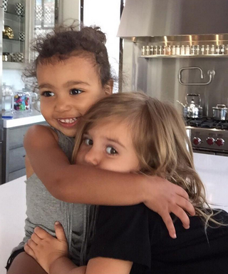 North West and Penelope Disick Make the World's Cutest Elsa and Anna from Frozen