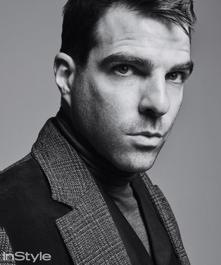 "Watch: Zachary Quinto on the Set of Our ""Man of Style"" Shoot"