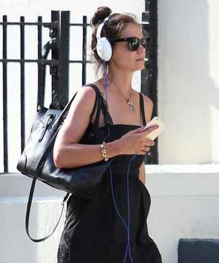 Katie Holmes' Street-Chic Look Is a Style Tribute to the '90s