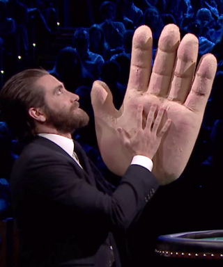 Watch Jake Gyllenhaal Get Slapped Across the Face with a Massive Fake Hand