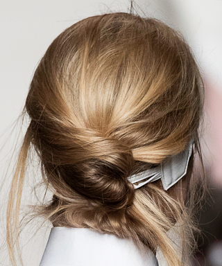 Pin a Pony Bun! Here's How to Get the Victoria Beckham Runway Look