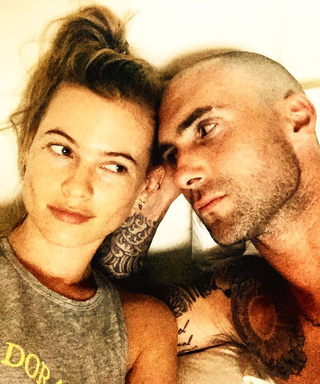 Watch Adam Levine Serenade Behati Prinsloo With a Love Song for Their First Anniversary