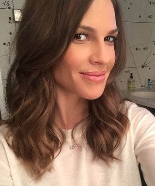 23 Times Birthday Girl Hilary Swank Shared a Seriously Stunning Selfie