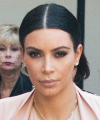 Kim Kardashian Goes Nude for Her Latest Maternity Look