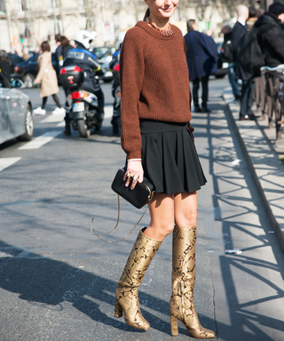6 Ways to Wear Knee-High Boots This Fall