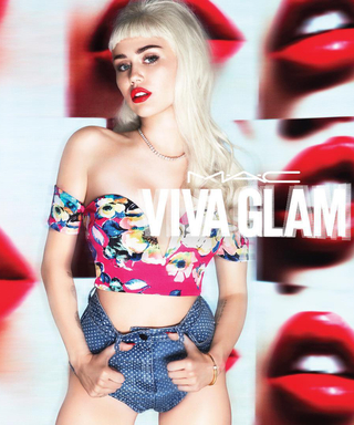 See Miley Cyrus' Gorgeous New Viva Glam Campaign for MAC