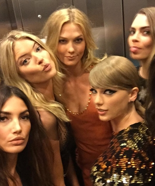 Taylor Swift and her #GirlSquad Take an Epic Elevator Ride at the 2015 VMAs