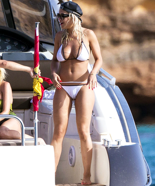 Rita Ora Shows Off Her Jaw-Dropping Bikini Body on a Yacht