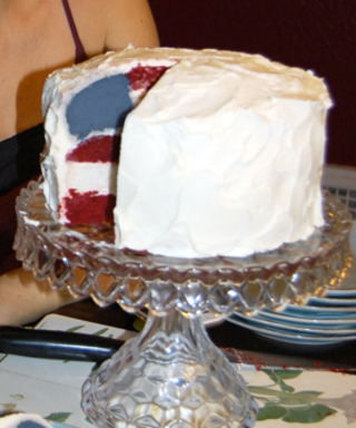 #InspiredByInStyle: Reader of the Week Mary Foster on Nailing the Flag Cake Recipe