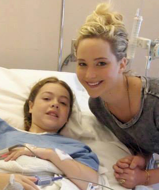 Jennifer Lawrence Visits Children at a Montreal Hospital—See the Sweet Photos