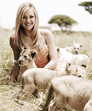 Kate Hudson Celebrates World Lion Day with an Adorable Instagram