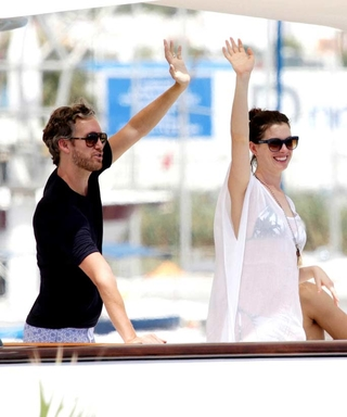 Anne Hathaway and Husband Adam Shulman Soak Up the Sun in Ibiza