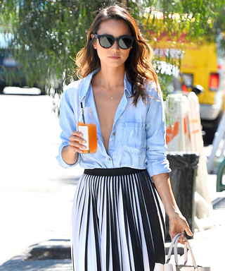 Jamie Chung Takes Her Look from Day to Night with This Skirt