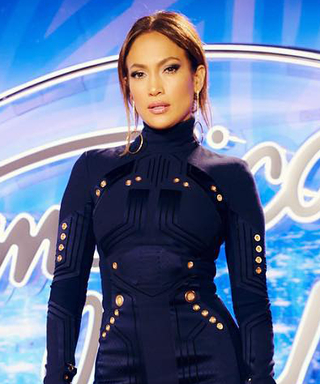 Jennifer Lopez Works a Short,SultryMini for American Idol's Auditions