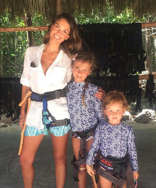 Jessica Alba Zip-Lines with Her Kids in Mexico, Plus More of the Best Weekend Instagrams