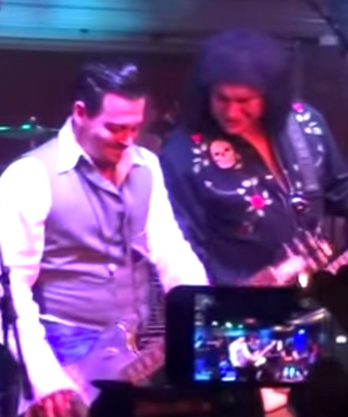 Watch Johnny Depp Jam Out on a Guitar for Charity