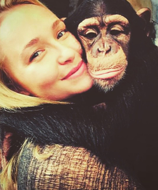 13 TimesBirthday Girl Hayden Panettiere Cuddled Up to a CuteAnimal