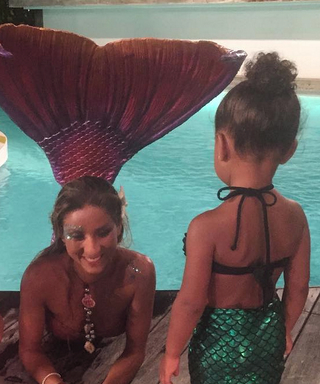 North West and Penelope Disick Are the Cutest Little Mermaids Around