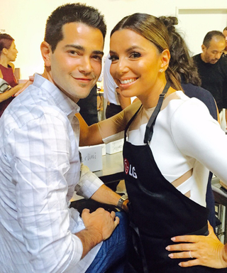 Eva Longoria and Her Former Desperate Housewives Love Interest, Jesse Metcalfe, Reunite