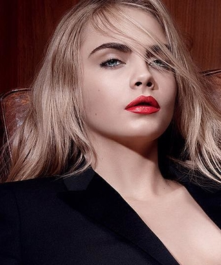 Cara Delevingne Poses Nearly Nudein New YSL Beauty Campaign