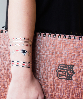 We Tried the Newest Game-Day Must-Have: NFL Temporary Tattoos