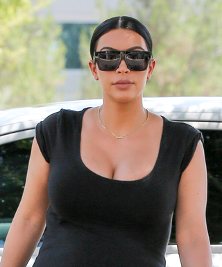 Kim Kardashian Shows Off Her Killer Maternity Style at the Grocery Store