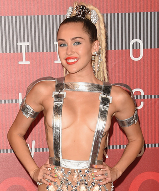 Miley Cyrus' Scandalous Outfit from the 2015 MTV Video Music Awards Leaves Little to the Imagination