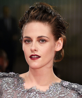 Kristen Stewart's Vampy Red Lip Has Us Ready for Fall