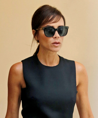Victoria Beckham Adds Side-Swept Bangs to Her Look in Time for Fashion Week