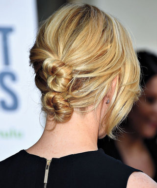 Follow These Simple Steps to DIY Fall's Two-Tiered Bun Trend