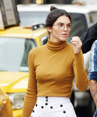 Kendall Jenner Shows Off Her Smart Style with New Glasses