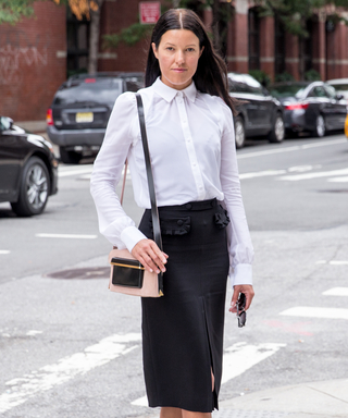See What InStyle's Fashion Director Melissa Rubini Wore to Day 3 of #NYFW
