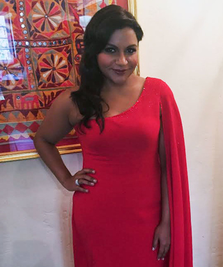 All the Exclusive Details on Mindy Kaling's Gorgeous Dress at the Creative Arts Emmys