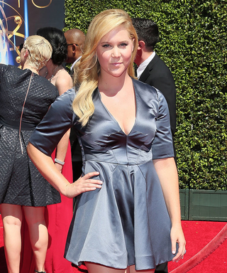 """Inside Amy Schumer Wins for """"Girl You Don't Need Makeup"""" at the Creative EmmyAwards"""