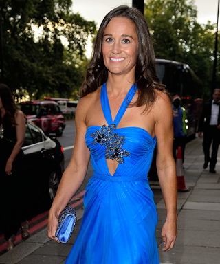 Pippa Middleton Wows at Charity Event in a Sexy Blue Gown
