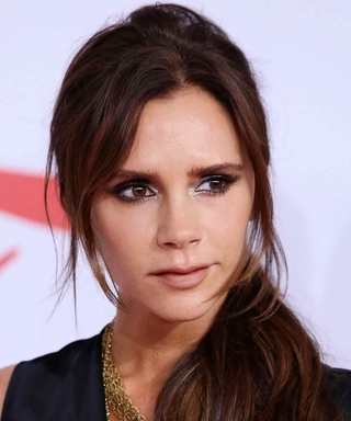 Victoria Beckham Looks Just Like Daughter Harper in This Cute Throwback Baby Photo