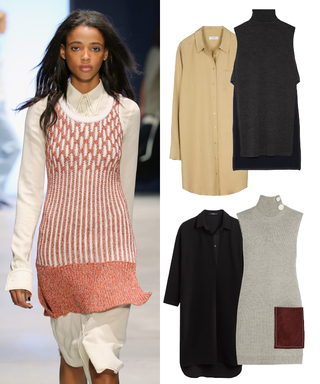 Shop the #NYFW Snapshot: Derek Lam's Layered Knit Tunic and Shirtdress