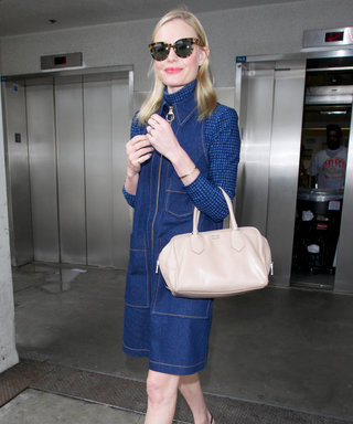 Kate Bosworth Channels the '70s in the Perfect Denim Dress