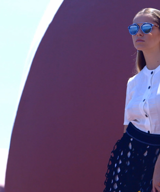 Watch Teresa Palmer and Odeya Rush Model Dior's Resort Collection on the French Riviera