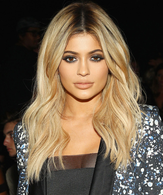 Kylie Jenner Debuts Mint Green Hair
