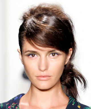 Trending for Spring: Brilliant Buns at New York Fashion Week