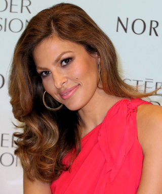 Eva Mendes on WhyShe Drinks Coffee in the Shower