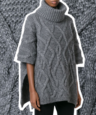 How to Style a Poncho in the Chicest Way Possible