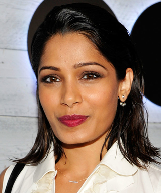Freida Pinto Dishes Out Some Very Practical Fashion Advice