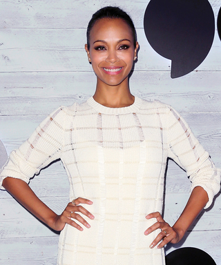 Zoë Saldana on Motherhood, Embracing Her Curves, and Why She Can No Longer Stand Heels