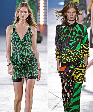 Girls Run The World At Versace and More From #MFW