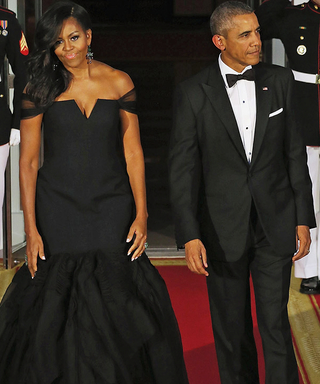The Obamas Host the Most Glamorous State Dinner Yet! See What the First Lady Wore