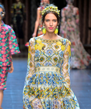 Watch Our 41-Second Recap of the Dolce & Gabbana Spring 2016 Show